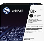 HP 81X Black LaserJet Toner, (CF281X), High Yield
