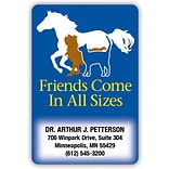 Medical Arts Press® 2x3-1/2 Friendship Full-Color Magnets; Pet Silhouettes