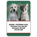 Medical Arts Press® 2x3 Glossy Full-Color Veterinary Magnets; Puppy and Kitten