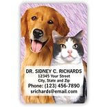 Medical Arts Press® 2x3 Glossy Full-Color Veterinary Magnets; Dog and Cat Photo