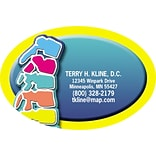 Medical Arts Press® Chiropractic Die-Cut Magnets; 3x2, Spine