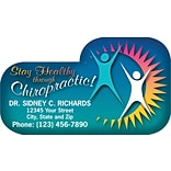 Medical Arts Press® Chiropractic Die-Cut Magnets; 3-1/2x2, Stay Healthy with Chiropractic