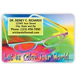 Medical Arts Press® 2x3 Glossy Full-Color Eye Care Magnets; Let Us Color Your World