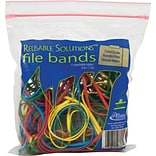 Reusable Solutions #117B Colored File Bands