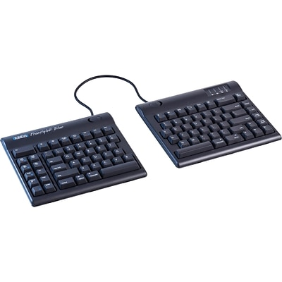 Kinesis Freestyle2 Blue Multichannel for Mac Wireless Keyboard, Black (KB800MB-BT)