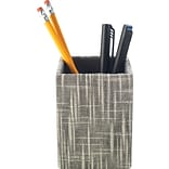 Quill Brand® Cloth Pencil Cup, Gray