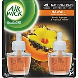 Air Wick Papaya & Hibiscus Scented Oil Refill