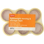 Lightweight Moving and Storage Packing Tape, 1.88 x 54.6 yds, Clear, 6/Pack (ST-A22-6)