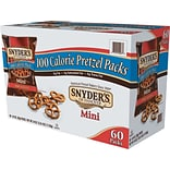 Snyders Mini Pretzels, Original, Pretzel, 0.9 oz (827582)