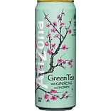 Arizona® Green Tea with Ginseng & Honey, Ginseng & Honey, 23 oz Can, 24/Carton (827162)
