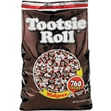 Tootsie Roll® Midgees®, 5 lbs, Chocolate, Each (42278)