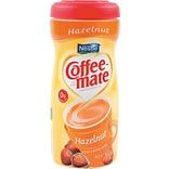 Nestle® Coffee-mate® Coffee Creamer, Hazelnut, 15 oz Powder Creamer, 12/Carton