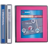 Avery Ultralast Binder with 1 One Touch Slant Rings, Blue (79740)