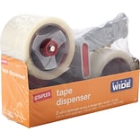 Lightweight Moving and Storage Packing Tape with Dispenser, Clear, 2/Pack, Each (ST-XW22-PG)