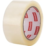 Staples Moving and Storage Packing Tape, 1.88 x 54.6 yds, Clear, 12/Pack (ST-A26-12)