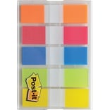 Post-it® Flags, 1/2 Wide, Rio de Janeiro Collection, 100/Pack (683RIO2)