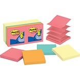 Post-it® Pop-up Notes, 3 x 3, Canary Yellow, Cape Town Collection,  14 Pads/Pack (R33014YWM)