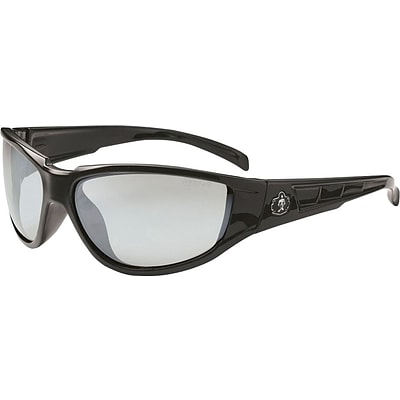 Ergodyne Skullerz® Njord Safety Glasses, Black, Anti-Scratch