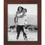 Malden Classic Linear Wood Picture Frame, Dark Walnut, 8 x 10