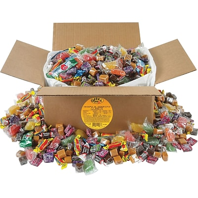Office Snax® Candy Assortments, 10 lbs, Soft & Chewy Mix, 10/Carton (OFX-00086)