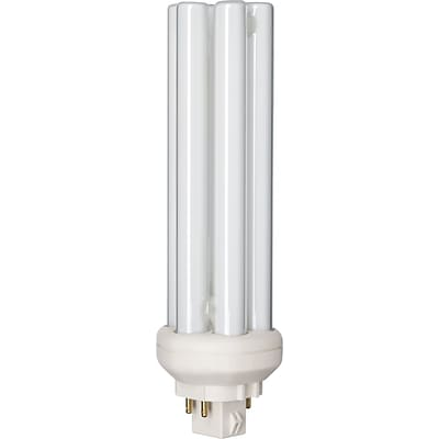 Philips Compact Fluorescent PL-T Lamp, 26 Watts, 4-Pin, Warm White, 10PK