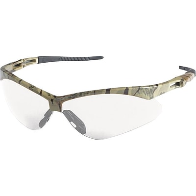 Jackson V30 NEMESIS Safety Glasses; Anti-Fog, Camoflauge