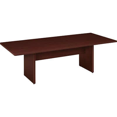 basyx® by HON BL Laminate Series Rectangular Conference Table; Mahogany
