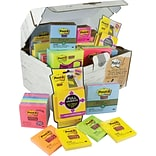 Post-it® Notes Treasure Chest Value Pack
