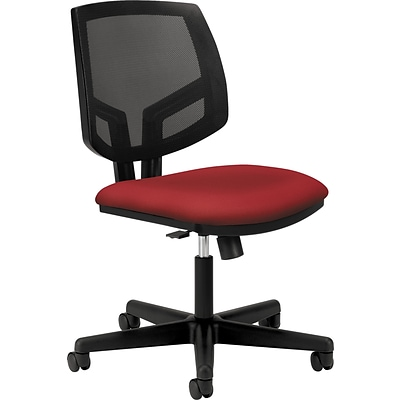 HON® Volt® 5713 Series Task Chairs with Synchro-Tilt; Crimson Fabric Seat