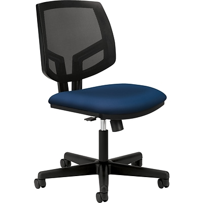 HON® Volt® 5713 Series Task Chairs with Synchro-Tilt; Navy Fabric Seat
