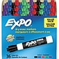 Expo Low Odor Markers; Chisel Tip