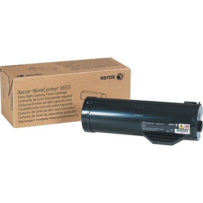 Xerox® 106R02740 Extra High Capacity Toner Cartridge, 25000 Page-Yield, Black