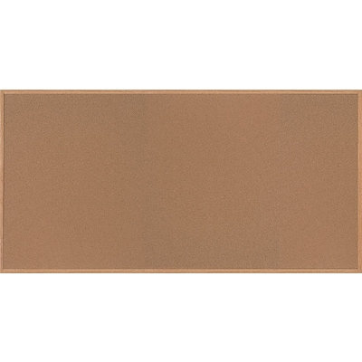 MasterVision® Value Cork Board with Oak Frame, 48 x 96 (SF362001233)