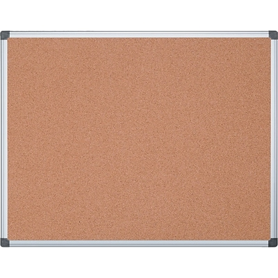 MasterVision® Value Cork Board with Oak Frame, 36 x 48 (SF152001239)