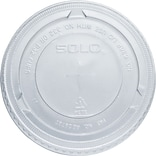 Solo® PET Non-Vented Lid, 2500/Ct
