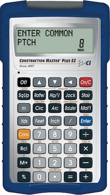 Calculated Industries Construction Master Plus EZ Calculator