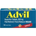 Advil 200mg. Pain Relief Tablets, 100Ct.