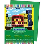 Riverside® 9x12 Green Construction Paper