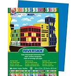Riverside® Blue Construction Paper