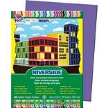 Pacon Riverside Construction Paper 9 x 12, Violet, 50 Sheets (103603)