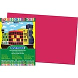 Pacon Riverside Construction Paper 18 x 12, Red, 50 Sheets (103614)