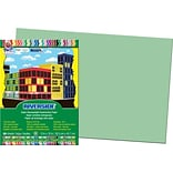 Pacon Riverside Construction Paper 18 x 12, Light Green, 50 Sheets (103619)