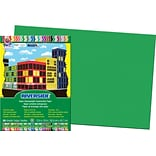 Pacon Riverside Construction Paper 18 x 12, Green, 50 Sheets (103620)