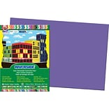 Pacon Riverside Construction Paper 18 x 12, Violet, 50 Sheets (103627)