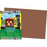Pacon Riverside Construction Paper 18 x 12, Brown, 50 Sheets (103629)