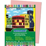 Riverside® Construction Paper, Salmon, 9 x 12, 50 Sheets