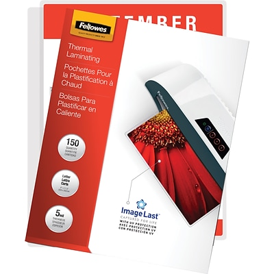 Fellowes® Thermal Laminating Pouch, 5 mil, 11-1/2H x 9W, 100/Pack