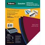 Fellowes® Black Oversized Un-Punched Binding Covers