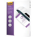 Fellowes® Laminating Pouches; 3mm, 9x14-1/2