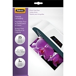 Fellowes®  Laminating Pouches; 3mm, 4x6